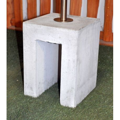 base for water tap in cement