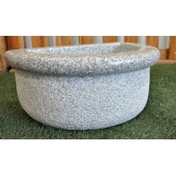 Basin in grey granite, Nr.300