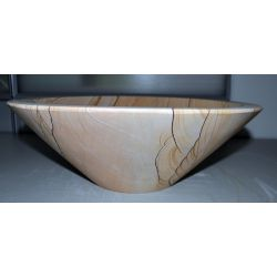Wash basin sandstone round, conical, no. 1688