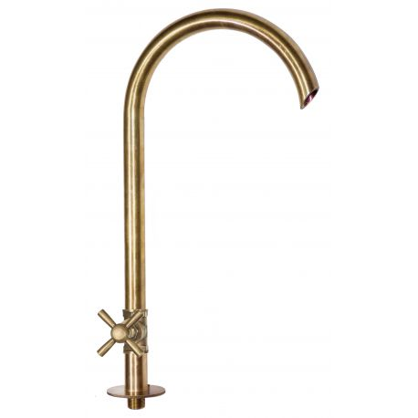 Water tap for big fountains