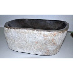 Wash basin in basalt, no. 1976