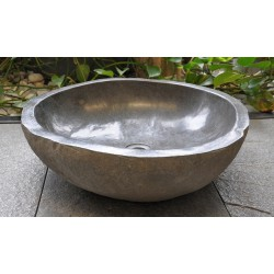 Wash basin in basalt, no. 2052