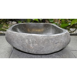 Wash basin in basalt, no. 2054