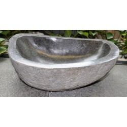 Wash basin in basalt, no. 2055