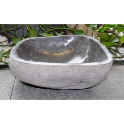 Wash basin in basalt, no. 2057