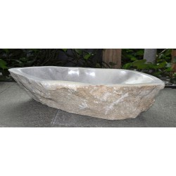 Wash basin in marble from Laas, no. 2133