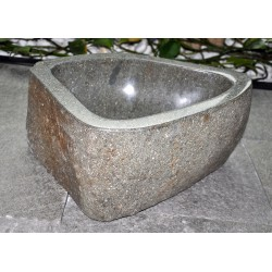 Wash basin made of a green South Tyrolean, Barbian porphyry, no. 2134