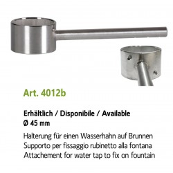 Attachement for stainless steel water tap, art. 4012b