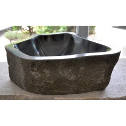 Wash basin in basalt from Seis, no. 2227
