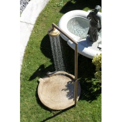 """Shower with cold water on """"antique"""" granite shower tray, no. 2203"""