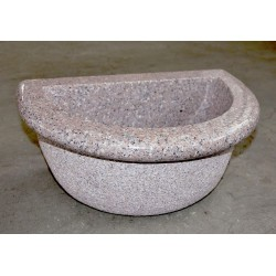 Basin in pink granite, Nr.301