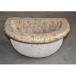 Basin in yellow granite, Nr.302