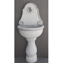 Wall Fountain in grey granite, Nr.303